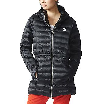 Adidas Originals Women's Slim Padded Hooded Coat - AY4765