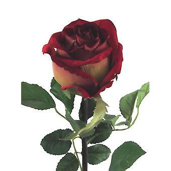 Artificial Velvet Rose Amore Single Stem