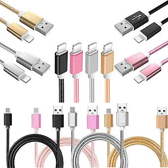 Snel opladen kabel-1M-iPhone X/8/7/6s/6/5/iPad