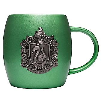 Harry Potter Slytherin Metallic Crest Mug