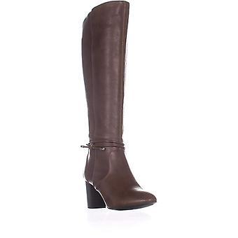 الفاني النساء الفاني Giliann الجلود اللوز تو الركبة أحذية الأزياء الراقية