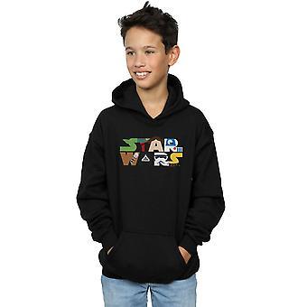 Star Wars Boys Character Logo Hoodie