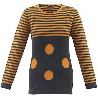 MARBLE Marble Orange Sweater 5459