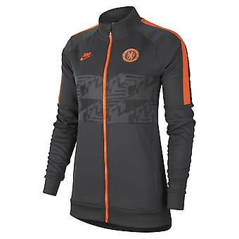 2019-2020 Chelsea Nike I96 Jacket (Anthracite) - Womens