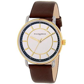 William Gregor in 1791 BWG10011G-305 - watch Leather Brown man