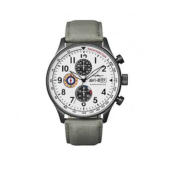 AVI-8 - Wristwatch - Men - Hawker Hurricane AV-4011 - AV-4011-0B - Gris