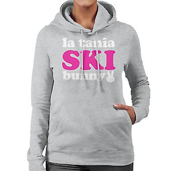 La Tania Ski Bunny Women's Hooded Sweatshirt