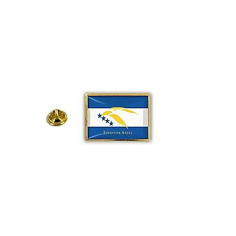 Pine PineS Pin Badge Pin-apos;s Metal Broche Papillon Butterfly Flag Atoll Johnston