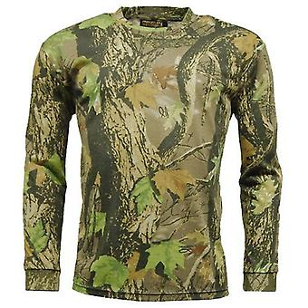 Long Sleeve Camouflage T Shirt