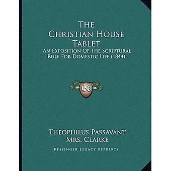 La tablette de la maison chrétienne