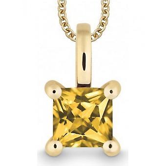 QUINN - halskjede - damer - gult gull 585 - 527124911