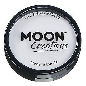 Moon Creations - Pro Face & Body Paint Cake Pots - Blanco