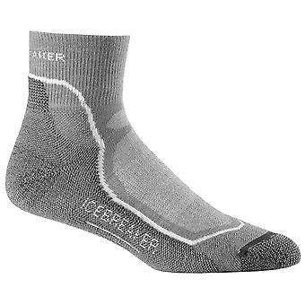 Icebreaker Fossil Mens HikeMD Light Mini Socks