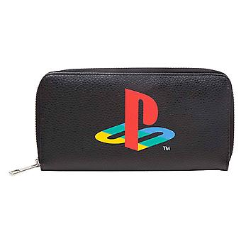 Playstation Çanta Klasik Logo Dokuma şeritler Resmi Sony Black Zip Around