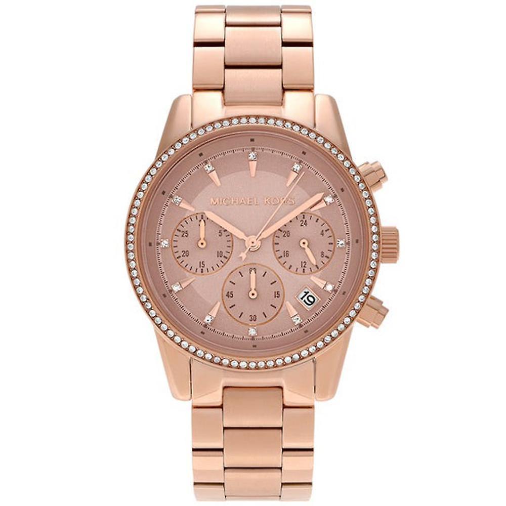 Michael Kors dames Ritz chronograaf horloge MK6357