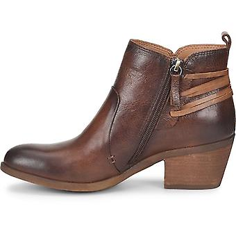 Comfortiva Womens Kinsley Leather Closed Toe Ankle Fashion Boots