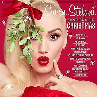 Stefani * Gwen - importation USA vous faire il se sentent comme Noël [Vinyl]
