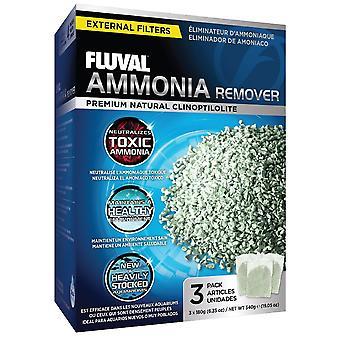 Fluval Ammonia Remover 3 X 180g