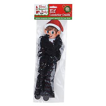 Christmas Shop Elves Behavin Badly Sequin Celebrity Outfit For Elf Doll