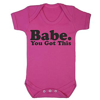 Babe, you got this babygrow
