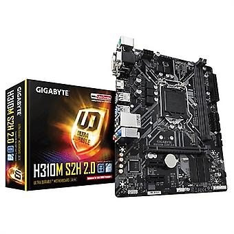 Scheda madre da gioco Gigabyte H310M S2H 2.0 mATX DDR4 LGA1151