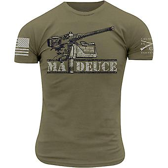 Grunt Style Ma Deuce T-Shirt - Military Green