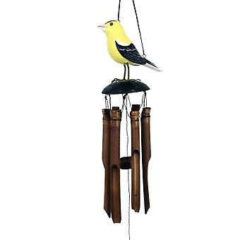 Campana de viento de bambú Goldfinch