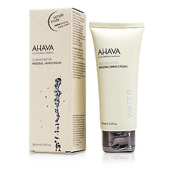 Ahava Deadsea Wasser Mineral Hand Cream - 100ml/3.4oz