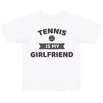 Tennis Is My Girlfriend- Kids T-Shirt