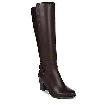 Naturalizer Womens Kelsey Läder Runda Tå Knä High Fashion Boots