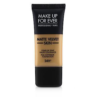 Matte velvet skin full coverage foundation # y405 (golden honey) 238968 30ml/1oz
