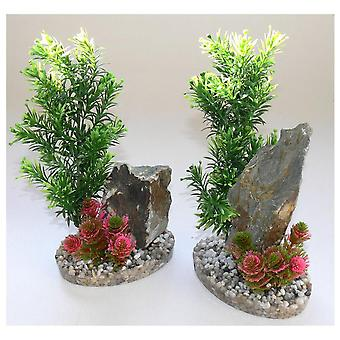 Sydeco Marine Rock Medium (fisk, dekoration, Artificitial planter)