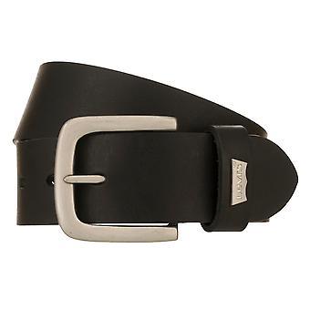 Levi's Belt Men's Belt Leather Belt Jeans Belt Black 8525