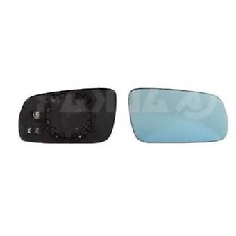 Right Mirror Glass (Heated blue glass) & Holder For Audi A4 1995-2000