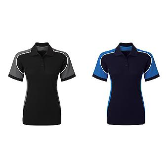 Alexandra Womens/Ladies Tungsten Work Polo Shirt