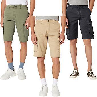 Wrangler Mens Cargo Knälängd Bomull Casual Bottoms Byxor Shorts