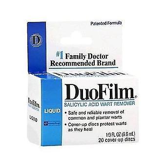 Duofilm ácido salicílico verruga removedor de líquidos, 0,33 oz
