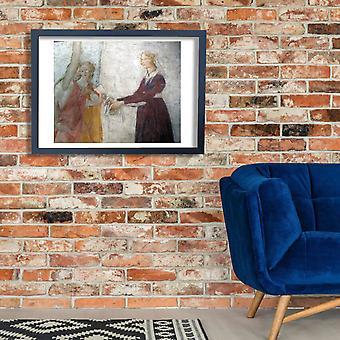 Sandro Botticelli - mulheres Poster impressão giclée
