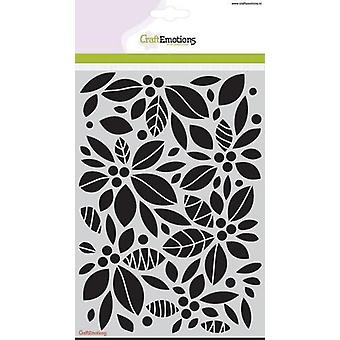 CraftEmotions Mask stencil - background floral A5