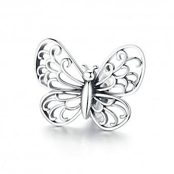 Sterling Silver Charm Nice Butterfly - 6091