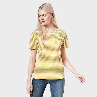 New Peter Storm Women's Angel Short Sleeve T-Shirt Yellow