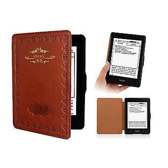 Kindle Paperwhite 1 2 3 pouzdra - PU kůže - Vintage hnědá