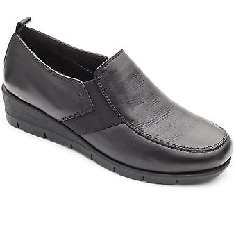Padders Nova Womens Wedge Heel Shoes