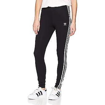 adidas Originals Women's 3-Stripes Leggings, Zwart, Medium, Zwart, Maat Medium