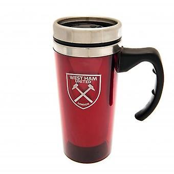 West Ham United Handled Travel Mug