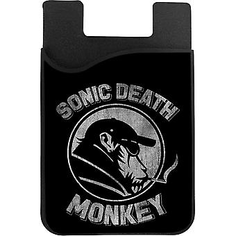 High Fidelity Death Monkey Phone Card Holder
