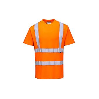 Portwest cotton comfort short sleeve workwear t-shirt s170