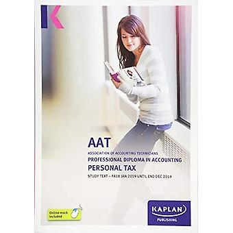 PERSONAL TAX (FA18)  - STUDY TEXT by KAPLAN PUBLISHING - 978178740275