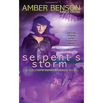 Serpent's Storm by Amber Benson - 9780441020096 Book