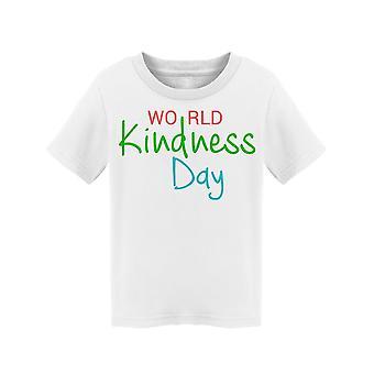 Banner For World Kindness Day Tee Toddler's -Image by Shutterstock